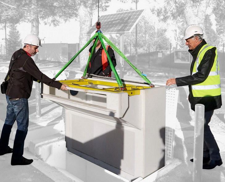 Veolia water R&D avaloir IOT cleantech prototype