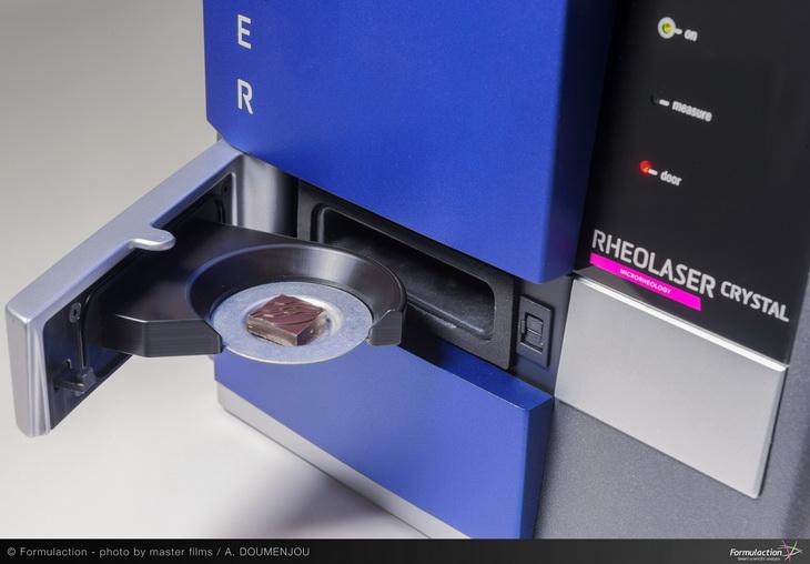 Formulaction Rhéolaser Crystal scientific design R&D