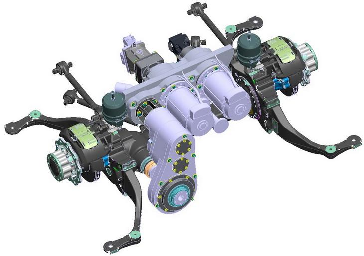 SAFRA BUSINOVA design r&d transport gearbox concept