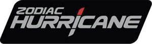 zodiac Hurricane graphic identity LOGO