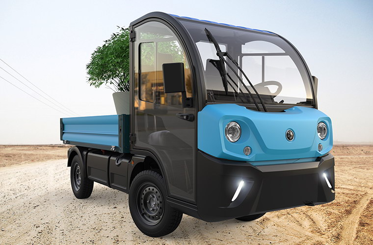 Polaris goupil G4 design transport electric