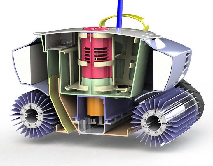 zodiac cyclonx consumer design robotic CAD
