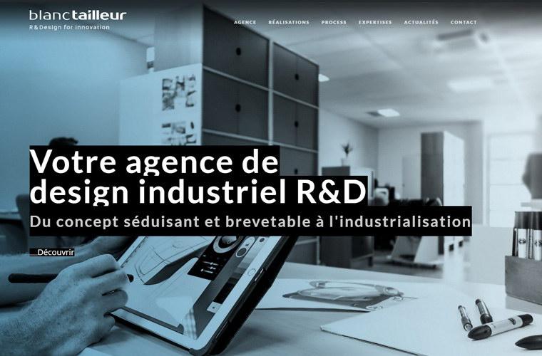 site web Blanc Tailleur Design R&D
