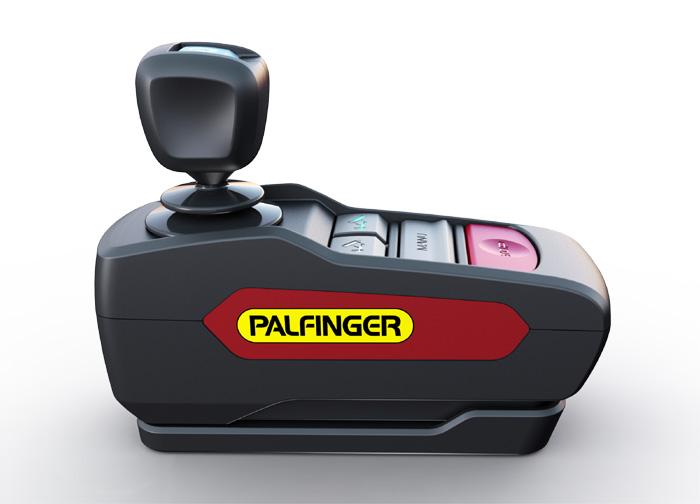 Palfinger cabcontrol blanc tailleur design IAA 2018