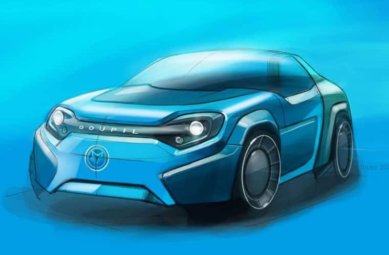 Goupil premier avril voiture électrique electric sport car