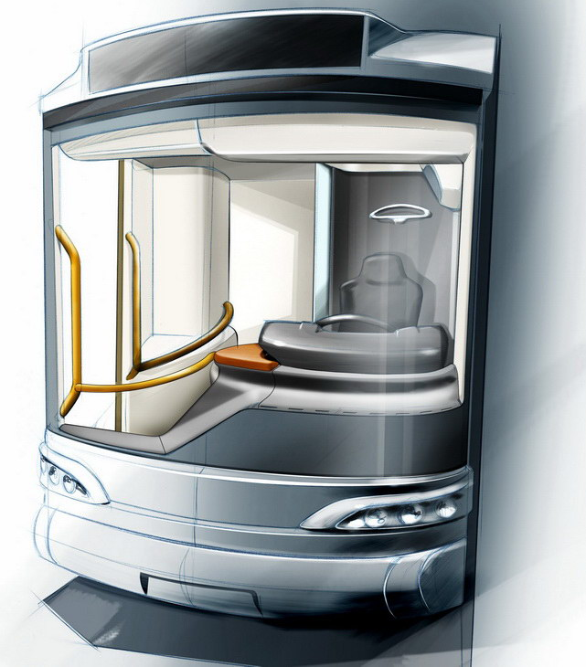 SAFRA BUSINOVA design r&d transport sketches