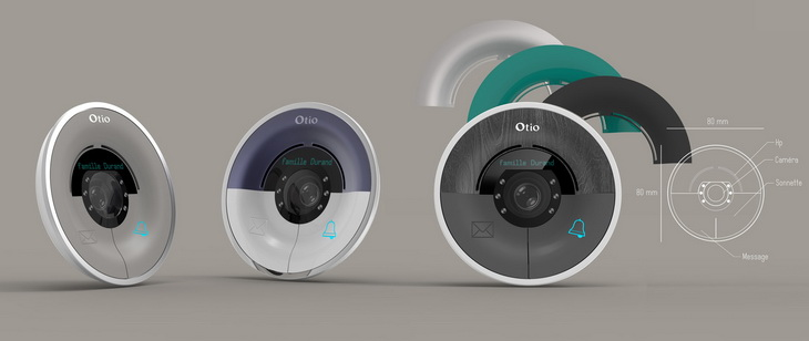 Consumer design otio portier video sketches