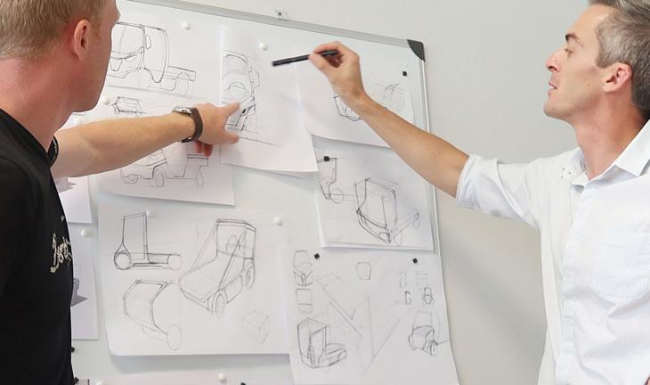 Polaris goupil G4 design transport electric creativity