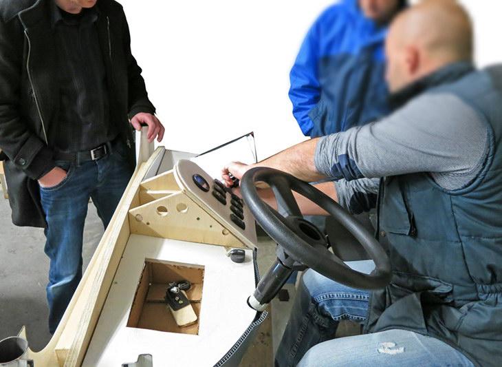 Polaris goupil G4 design transport electric design-thinking