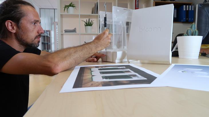 alg-and-you BLOOM-consumer design for startup spiruline fablab