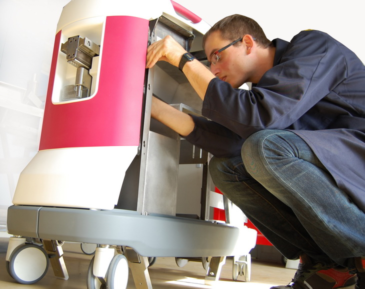 meadical medtech rosa one robotic design prototype fablab