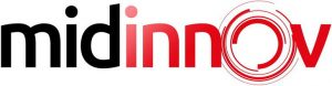 Logo Midinnov, salon de l'innovation en Occitanie
