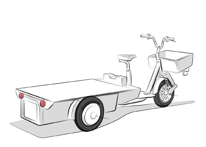 Cobrane A1 Transport Blanc Tailleur Design R&D