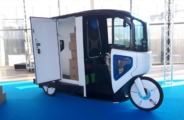 Tricycle électrique de livraison dernier kilomètre