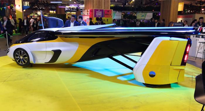 Voiture volante, innovation originale