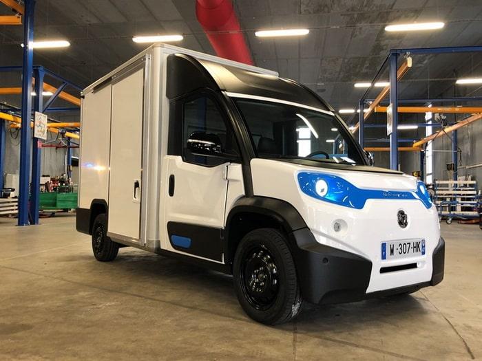 Polaris goupil G6 design transport electric