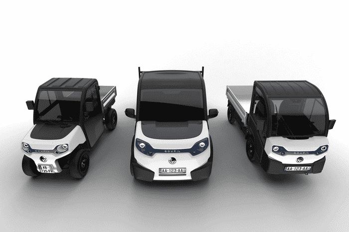 Polaris goupil G2 G4 G6 design transport electric