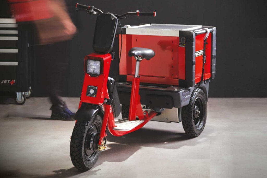 Cobrane Em A Tricycle électrique - Photo avant