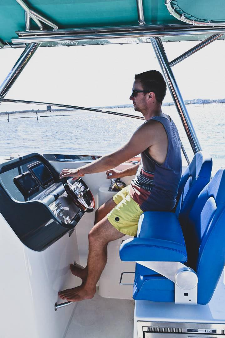 Pinball Boat Happy Day Boat Poste De Conduite Ergonomique