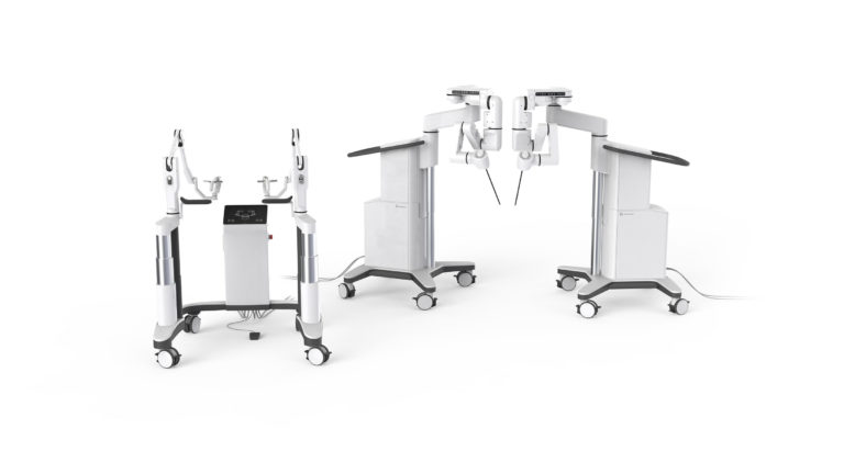 Robot chirurgical Dexter par Distalmotion
